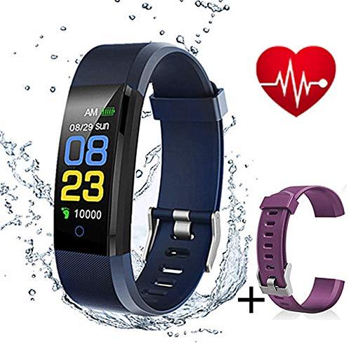 Pulsera Inteligente, rastreador de Actividad Monitor de Ritmo cardíaco a Prueba de...