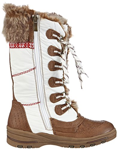 Marco Tozzi Cool Club 46200, Boots fille Blanc (White Comb / 197)