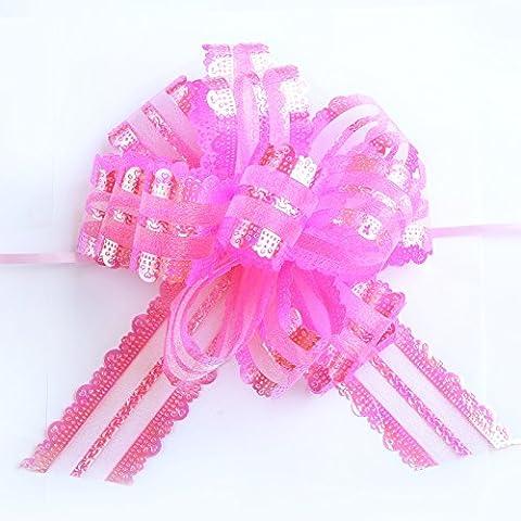 Pull Bögen 10PCS Hochzeit Geschenk Verpackung Dekoration garlanddiameter 17cm rose