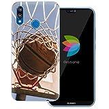 Die besten Basketball Tore - dessana Basketball Transparente Schutzhülle Handy Case Cover Tasche Bewertungen