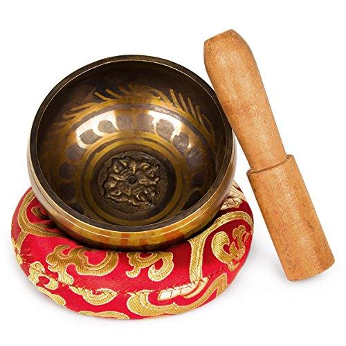 EFANTUR Set cuenco tibetano 7 metales Cuenco nepal