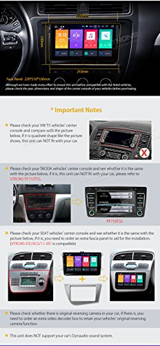 XTRONS 9 Inch Android 8 0 Octa Core 4G RAM 32G ROM Car Stereo Radio HD  Digital Multi-touch Screen OBD2 DVR In Dash Video Player Tire Pressure