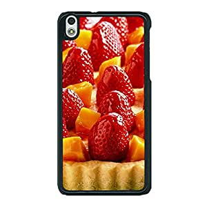 Jugaaduu Strawberry Tart Back Cover Case For HTC Desire 816