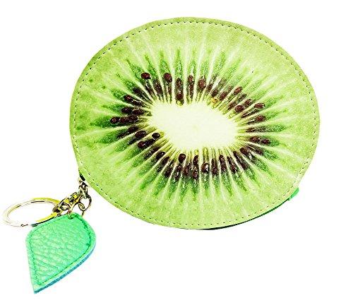 aiklin-damen-schlusseletui-munzborse-kreative-portemonnaie-fruchte-serie-kiwi