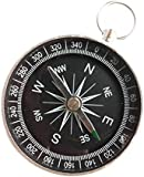 SevenMye Mini Pocket Survival Liquid Filled Button Compass for Hiking Camping Outdoor