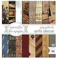 """Colección de papeles scrapbooking""""Harry Potter"""""""