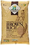 #7: 24 Mantra Organic Sonamasuri Raw Rice Brown Organic, 2kg