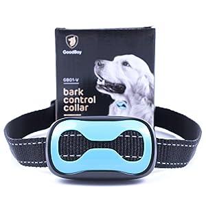 Collier de écorce de chien pour chiens de petite et moyenne taille Collier de dressage de Bonnes vibrations. Contrôlez votre animal domestique Excessive d'Aboyer avec cette simple anti-aboiement sans Choc Outil d'entraînement.