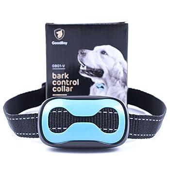 Collier d?écorce pour chiens de petite et moyenne taille Collier de dressage par vibrations. Contrôlez les aboiements excessifs de votre animal domestique avec ce collier anti-aboiement sans Choc. Outil de dressage