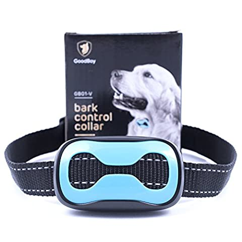 Dog Barking Collar For Small Medium And Large Dogs You Can Control Your Pet Unwanted Barking With This Safe GoodBoy Vibrating Anti Bark Training Device ( 8 + lbs