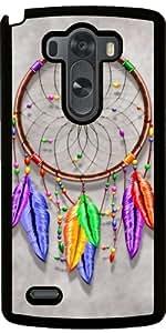 Coque pour LG G3 - Dreamcatcher Plumes Arc-en-
