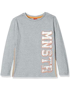 s.Oliver T-Shirt Langarm, Camiseta de Manga Larga para Niños