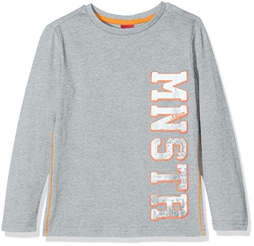 s.Oliver Jungen Langarmshirt T-Shirt Langarm, Grau...