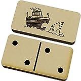 Azeeda 'Titanic & Eisberg' Domino-Spiel und Box (DM00018814)