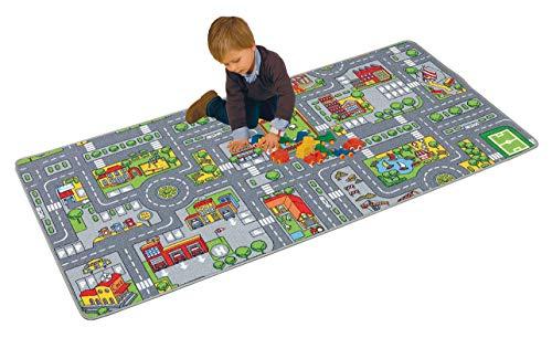 riesiger Spielteppich Verkehr Straßenteppich 100 x 190 cm