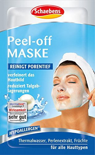 Schaebens Peel-Off Maske, 15er Pack (15 x 15 ml) Halloween-peeling