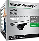 Rameder Pack Barres de Toit WingBar Evo pour VW Golf VI (114406-07873-196-FR)