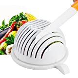 from iGadget New Salad Cutter Bowl, Vegetable Cutter Bowl - Make Your Salad in 60 Seconds