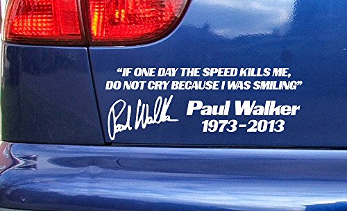 paul-walker-rip-tribute-if-the-speed-kills-me-do-not-cry-vinyl-die-cut-sticker-decal-gold-200mm-x-75
