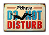 "Sketchfab ""Please Do Not Disturb"" Wall Sign (Wooden, 30 cm x 20 cm)"