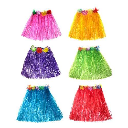 Kleinkind Kostüm Hula - Aolvo Baby Hula-Röcke für Kleinkinder, Kinder,