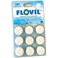 Flovil md9295SOS eau trouble (Pastillas Super Concentrado de alta rendimiento, blanco