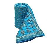 #10: Mharo Rajasthan Traditional Jaipuri single side printed Razai - Single Bed