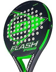 Dunlop FLASH PRO - Pala de pádel 38mm, 2018, nivel iniciación, ...