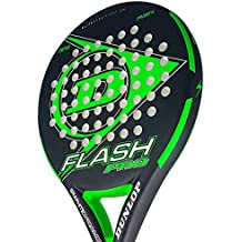Dunlop FLASH PRO - Pala de pádel 38mm, 2018, nivel iniciación, ...