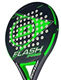 Dunlop FLASH PRO - Pala de pádel 38mm, 2018, nivel iniciación, color verde