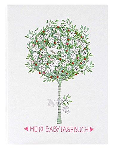 Goldbuch 11476 Babytagebuch Tree of life, 44 Seiten, 21 x 28 cm