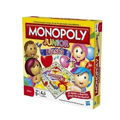 Juegos en familia Hasbro - Monopoly Junior Party 36887105 de Hasbro