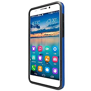 Nillkin Premium Back Case Cover For Huawei Honor 6 (Blue)