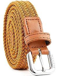 miglior servizio 61943 10d58 Amazon.it: cinture pelle - Giallo / Cinture / Accessori ...