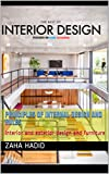 Principles of internal design and rules: Interior and exterior design and furniture