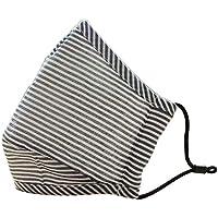 [Grauer Streifen] 2 Stück Anti-Staub Mund Maske Baumwolle warme Mund Maske preisvergleich bei billige-tabletten.eu