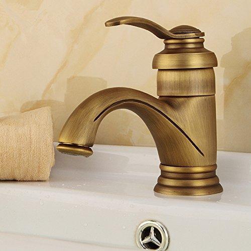 Greenspring Nostalgie Retro Badarmaturen Einhebel Armatur Wasserhahn Bronze Bad Waschbecken Waschtischarmatur