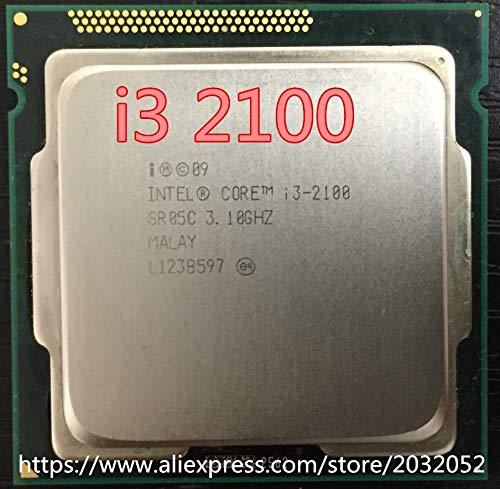 DIPU WULIAN Core i3 2100 Processor 3.1GHz /3MB Cache/Dual Core/Socket 1155 / Qual Core/Desktop 3 Mb Cache