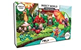 #10: Pola Puzzles Insect World Tiling Puzzles 60 Pieces For Kids Age 5 years and above Multi Color Size 36CM X 21CM Jigsaw Puzzles for Kids