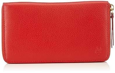 Marc O´Polo Accessories Neele RV-Damenboerse 80271 45000 400 Damen Geldbörsen 19x11x3 cm (B x H x T), Rot (rot 45000)