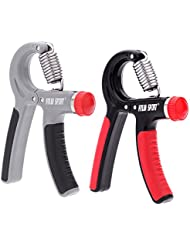 sprigy (TM) 10–40kg Hand Grip ajustable a la muñeca antebrazo Entrenamiento de Fuerza Fortalecedor Ejercitador de Mano de gimnasio y fitness pesados Grip Grips