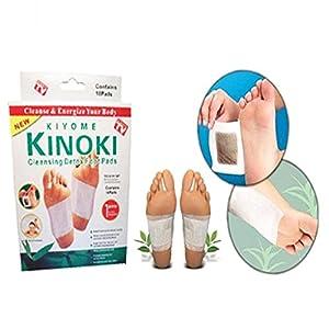 Ndier Set mit 50 Klebepads für Füße zur Reinigung und Toxinentfernung
