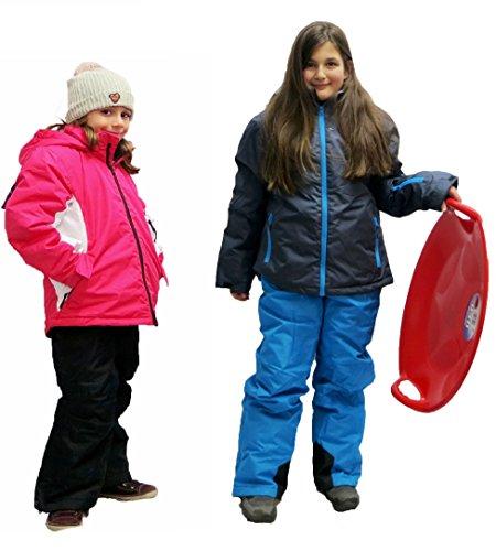 Kinder Mädchen SKIANZUG Schneeanzug Wintersport Skijacke Skihose Winter Jacke und Hose Anzug