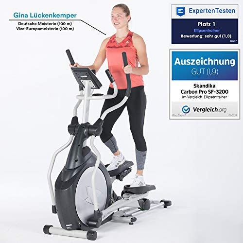 Skandika Crosstrainer CardioCross Carbon Pro Elliptical - 2