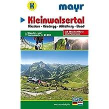 Kleinwalsertal: Wander- und Tourenkarte 1:25000 mit Wanderführer und Panorama. GPS-genau. (Mayr Wanderkarten)
