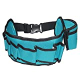 Segolike Multi-function 8-Pocket Professional Electrician Tool Belt Pouch Organizer Bag Tidy Case
