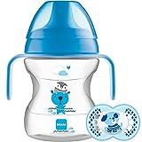 MAM Learn To Drink Schnuller Tasse, 150ml, 6Monate, Blau