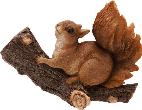 Écureuil sur une branche cm.18,5 H.
