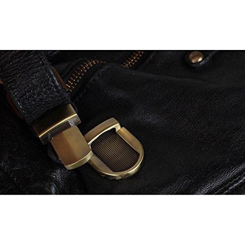Billy the Kid Daytona Serviette - Porte-documents cuir 38 cm Black