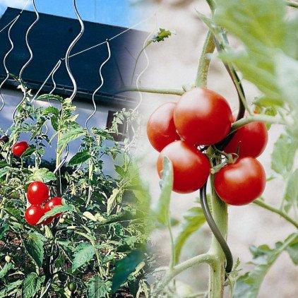 OSE Tuteur à tomate avec chas - Par 5 - Gris